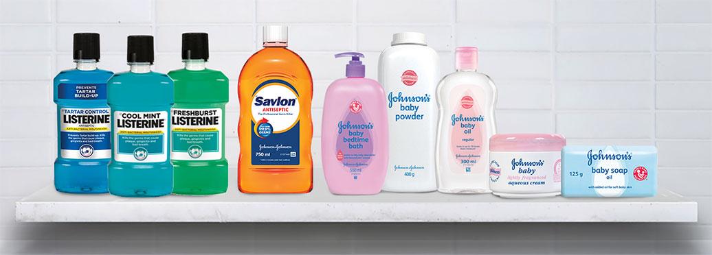 J&J trusted brands